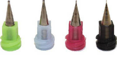 Metal Tapper Tips facilitate high-speed dispensing.