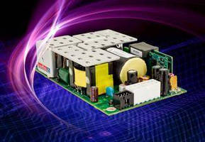 AC-DC Power Supplies feature medical approvals.