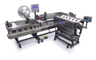 Scale and Bagger System is suited for fragile food packaging.