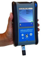 Multifunctional Probe measures RH, dewpoint, temperature.
