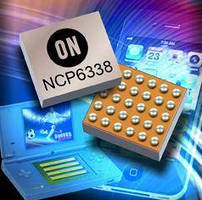 DC-DC Converter IC configures voltage output to match load.