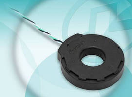 AC Current Sensor has dynamic range of 0.10 to 1000+ A.