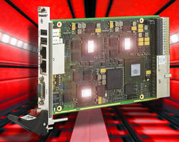 cPCI� PlusIO SBC offers dual redundancy for rail applications.