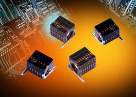 Air Core RF Inductors handle currents from 1.6-4.4 A.