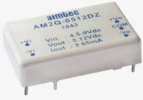 DC/DC Power Supplies feature multi-layer ceramic capacitors.