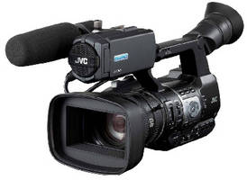 HD Video Camera features built-in 23x zoom lens.