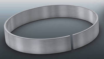 Retaining Rings are suited for thin radial walls.