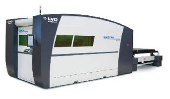 Fiber Laser Cutting System accelerates sheet metal processing.