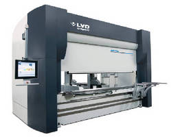 Press Brake integrates automated tool changer unit.