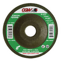 Grinding Wheels will not discolor or warp stainless steel.