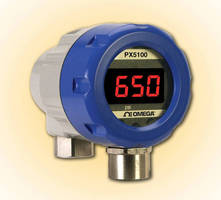 Industrial Pressure Transmitters monitor wet or dry media.