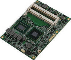 COM Express Type 6 Module uses 3G Intel� Core(TM) iSeries CPUs.