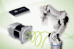 Micro-Stepping Motor Controllers feature single-chip design.