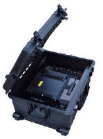 Portable Satellite System supports disaster recovery work.