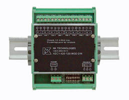 ADC Signal Converters convert sensor output to Modbus format.