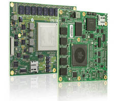 COM Express Modules aid development of low-power designs.