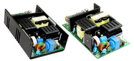 Multi-Output AC/DC Power Supply occupies 3 x 5 in. footprint.