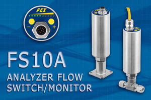 Flow Switch/Monitor accommodates water and wastewater operations.