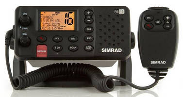 Fixed Mount DSC VHF Radio combines performance, usability.