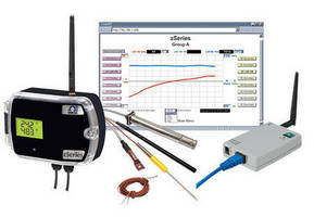 Wireless Transmitter/Sensor System enables Web-based monitoring.