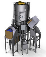 High Volume Mixing System blends 25,000 lb per hour.