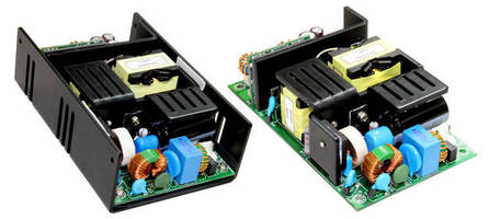 Compact 150 W AC/DC Power Supply offers 2, 3, or 4 outputs.