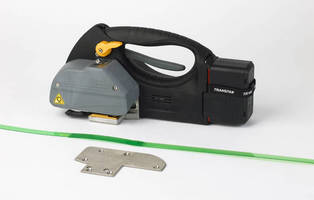 Battery-Powered Strapping Tools ensure operator comfort.