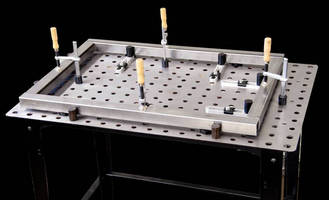 Modular Welding Table provides safe, efficient work surface.