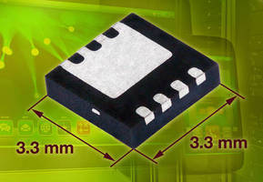 P-Channel MOSFET (-20 V) offers on-resistance down to 4.8 mohm.
