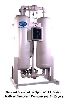 Desiccant Air Dryer works without heat.