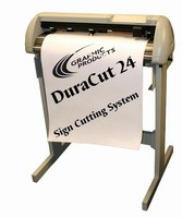 Large Format Printer Performs As Vinyl Cutter And Plotter