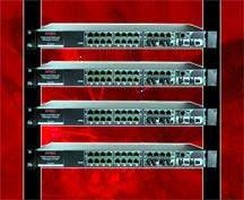 Ethernet Switches target high density applications.