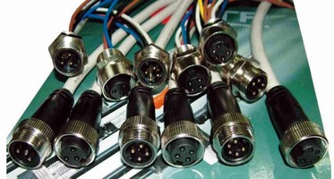 Circular Connectors are available with 3, 4, and 5 poles.