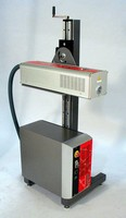Laser Coding System offers high speed operation.