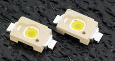 SMT LED measures 10.5 x 5.0 x 2.1 mm.
