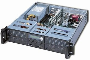 Industrial Chassis can support up to 6 drives at one time.