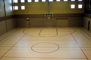 Polyurethane Coating suits athletic/pedestrian floors.