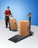 Floor Scale comes in 500, 1,000, and 2,000 lb capacities.