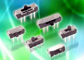 Slide Switches are lead-free and process-compatible.