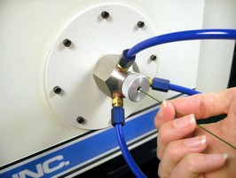 Blasting Nozzle handles wire stripping applications.