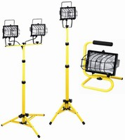 Task Lights are available in floor or tripod models.