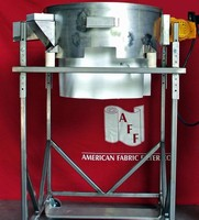 Portable Reclaim Sifter is made of stainless steel.