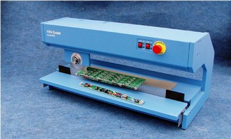PCB Depanelizer can singulate long circuit boards.