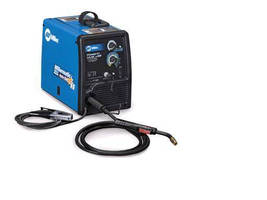 Portable MIG Welder can weld up to 3/8 in. thick mild steel.