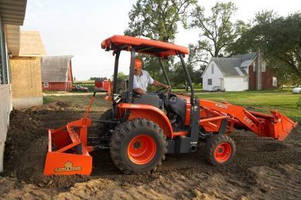 Tractor has lifting capacity of 2,200 lb.