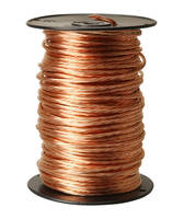 Bare Copper Wire Conductors come in 25 lb contractor packs.
