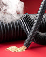 Rubber Hose suits fume or dust removal applications.