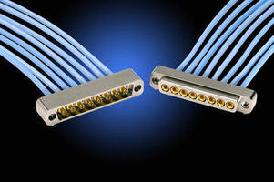 Multiway Coax Connectors have up to 40 GHz of VSWR.