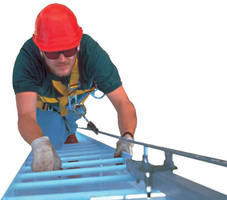 Ladder Safety System Is Fall Arrest Rated