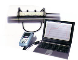Portable Ultrasonic Flowmeter provides accuracy to �0.5%.